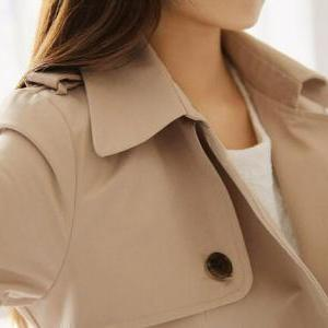 Slim double-breasted coat jacket AX..