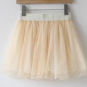 Lace Bow Skirt AX092714ax