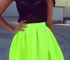 Fluorescent green ha..