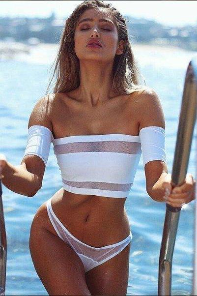 Sexy Two-Piece Bikini Suit Swimwear