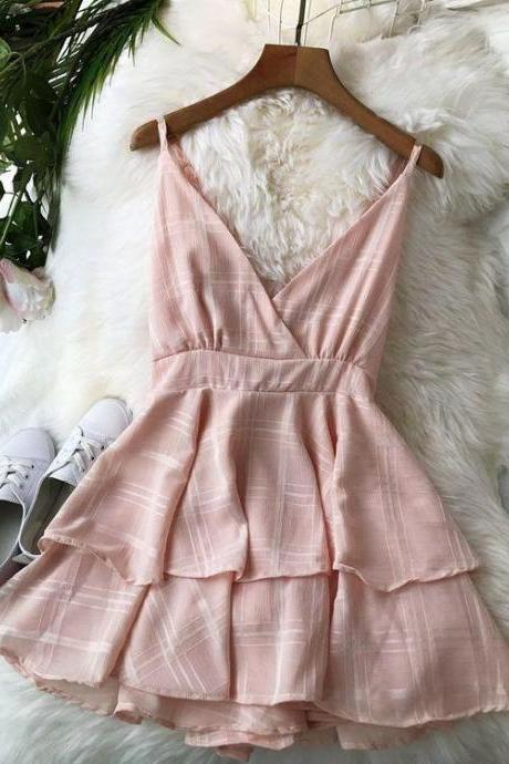 Sexy Backless V-neck Sling Rompers Jumpsuit