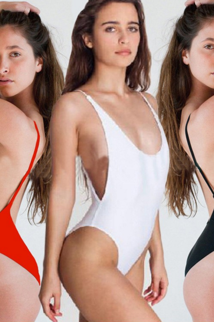 SEXY BACKLESS SWIMSUIT