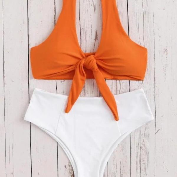 High Waist Bikini Set Swimwear Swimsuit